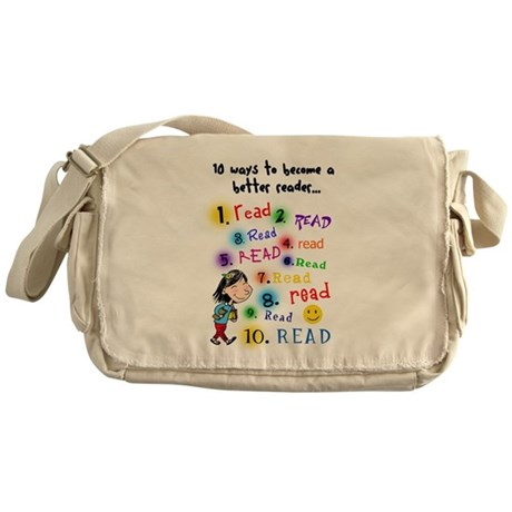 Read Better Messenger Bag