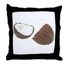 Some Coconut On Your Throw Pillow