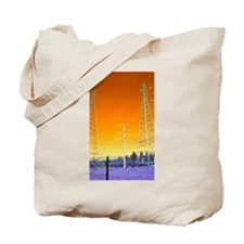 Cute Two towers Tote Bag