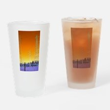 Cute Two towers Drinking Glass