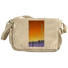 Cute Two towers Messenger Bag