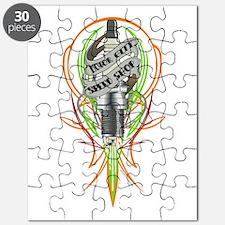 Pinstriped spark plug Puzzle