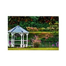 GARDEN GAZEBO Rectangle Magnet