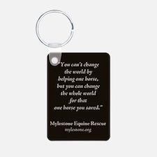 Mylestone Aluminum Keychain featuring Jingle