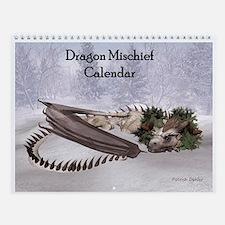 Dragon Mischief 2014 Wall Calendar