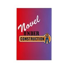 Novel Under Construction Rectangle Magnet
