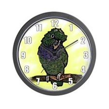 Maxi Pionus Art Wall Clock