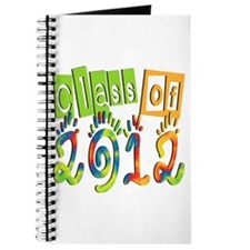 Colorful Class of 2012 Journal