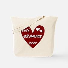 Heart Best Grammie Ever Tote Bag
