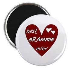 Heart Best Grammie Ever Magnet