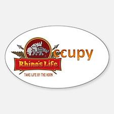 Rhino's Life Occupy Decal
