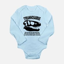 TYRANNOSAURS Long Sleeve Infant Bodysuit