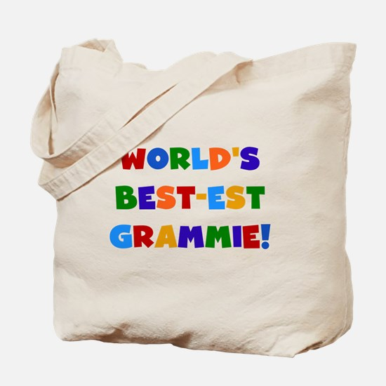 Grammie Bright Colors Tote Bag