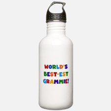 Grammie Bright Colors Water Bottle
