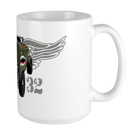 Flying Tiger 32 Deuce Tribute Large Mug