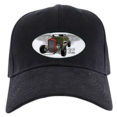 Flying Tiger 32 Deuce Tribute Black Cap