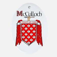McCulloch Coat of Arms Ornament (Oval)