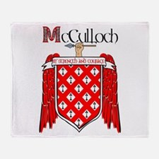 McCulloch Coat of Arms Throw Blanket