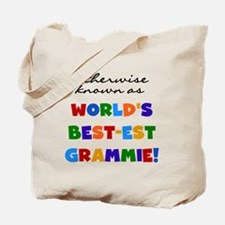 Otherwise Known Best Grammie Tote Bag