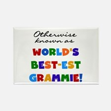 Otherwise Known Best Grammie Rectangle Magnet