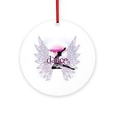 Crystal Dancer Ornament (Round)