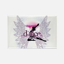 Crystal Dancer Rectangle Magnet
