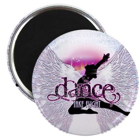 """Crystal Dancer 2.25"""" Magnet (10 pack)"""