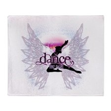 Crystal Dancer Throw Blanket
