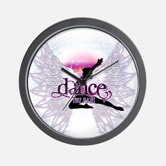 Crystal Dancer Wall Clock