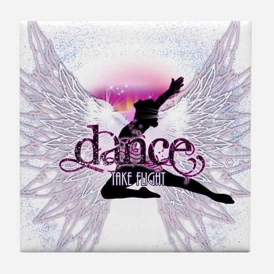 Crystal Dancer Tile Coaster