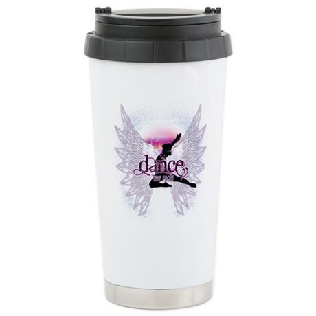 Crystal Dancer Stainless Steel Travel Mug