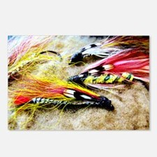 FLY FISHING LURES Postcards (Package of 8)