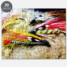 FLY FISHING LURES Puzzle