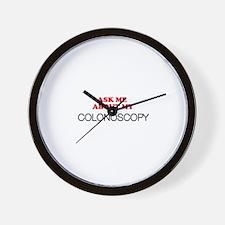 Colonoscopy 02 Wall Clock