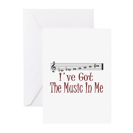 The Music In Me Greeting Cards (Pk of 10)