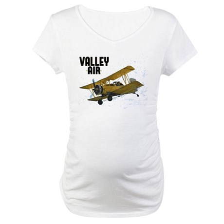 Airplaines and Pilots Maternity T-Shirt