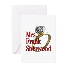 Army Wives Mrs. Frank Sherwood Greeting Card