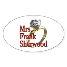 Army Wives Mrs. Frank Sherwood Decal