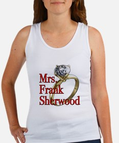Army Wives Mrs. Frank Sherwood Women's Tank Top