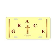 Grace Aluminum License Plate