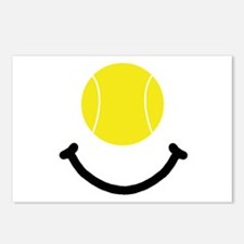 Tennis Smile Postcards (Package of 8)
