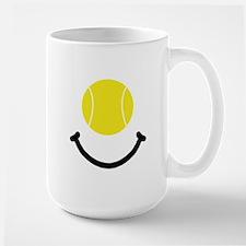 Tennis Smile Large Mug