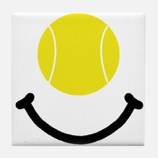 Tennis Smile Tile Coaster