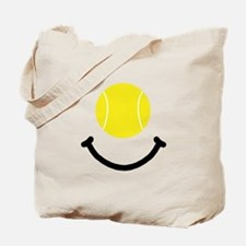 Tennis Smile Tote Bag