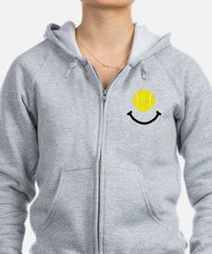 Tennis Smile Zip Hoody