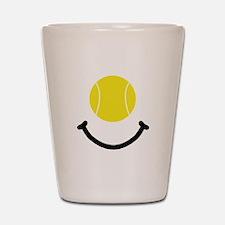 Tennis Smile Shot Glass