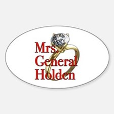 Mrs. General Holden Army Wives Decal