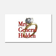 Mrs. General Holden Army Wives Car Magnet 20 x 12