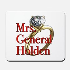 Mrs. General Holden Army Wives Mousepad