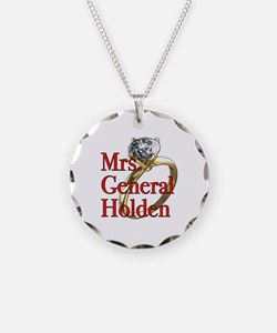 Mrs. General Holden Army Wives Necklace